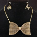 Antique Brass Bow Tie