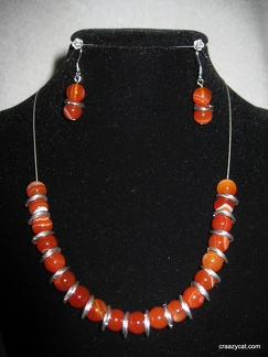 Banded agate - 18""