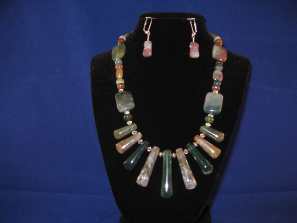 Indian Agate with Silver Spacers.JPG